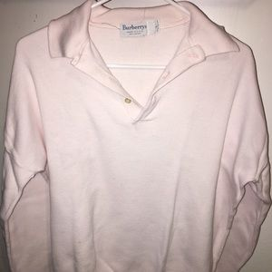 Burberry Light Pink Polo